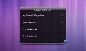 Screenshot of Dell Stage Books Widget