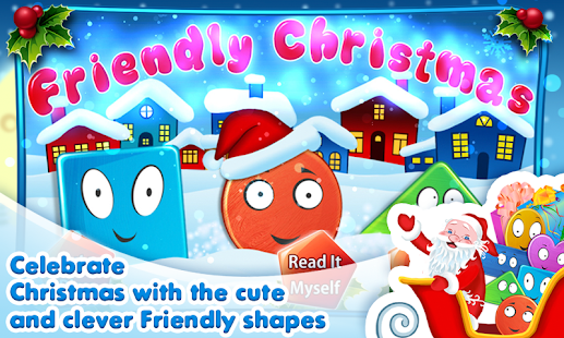 Friendly Shapes XMAS Storybook - screenshot thumbnail