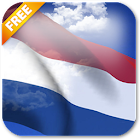 3D Netherlands Flag Live Wallpaper icon