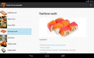 Screenshot of Sushi Encyclopedia