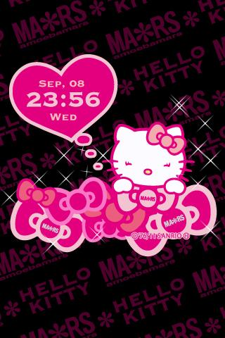 MARS×HELLO KITTY LiveWallpaper - screenshot