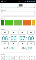 Screenshot of yasp! Class Schedule