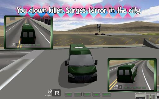 Clown Killer Minibus