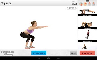 Screenshot of Fitness Flow FREE