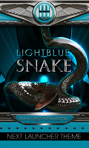 snake Next Launcher Theme