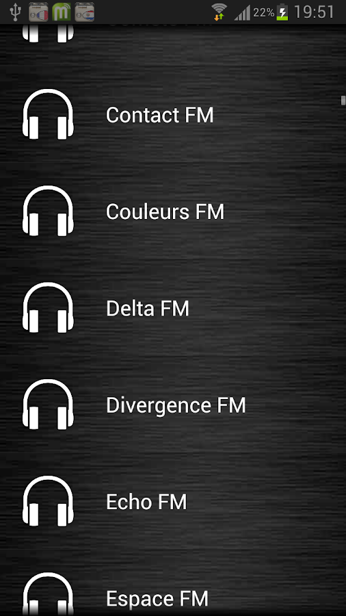 Live Radio France - screenshot