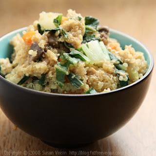 Vegetable Fried Quinoa.