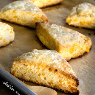 Gluten Free Cheddar Mustard Scones.