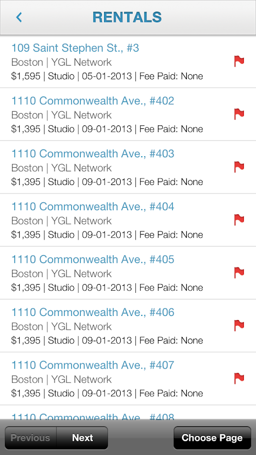 YouGotListings Mobile- screenshot