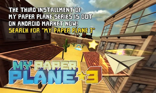 My Paper Plane 2 (3D)- screenshot thumbnail