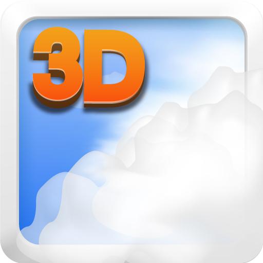 Sky 3D LIve Wallpaper LOGO-APP點子
