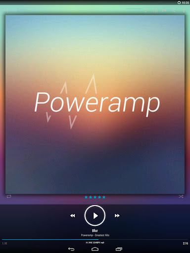 Skin for Poweramp KK/JB/ICS  screenshots 8
