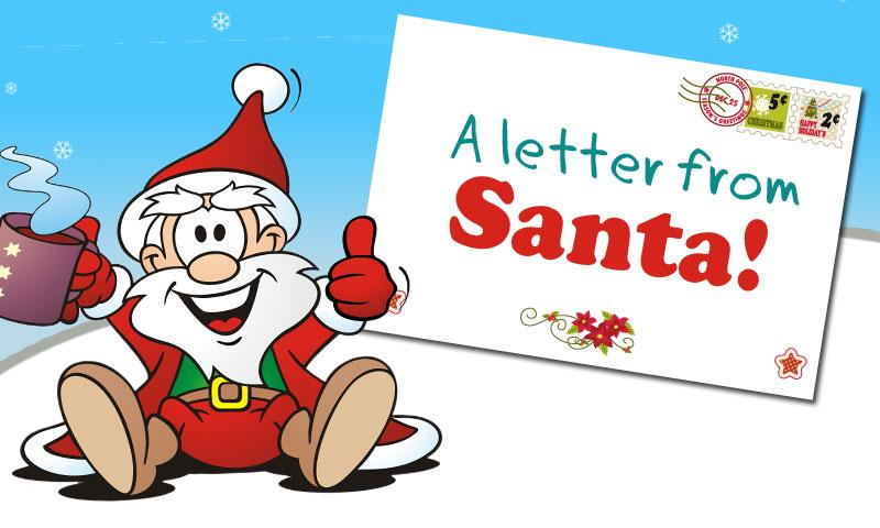 write a letter to santa and get one back
