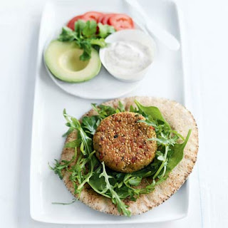 Quinoa and Chickpea Burgers Recipe