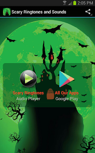 Scary Ringtones and Sounds screenshot