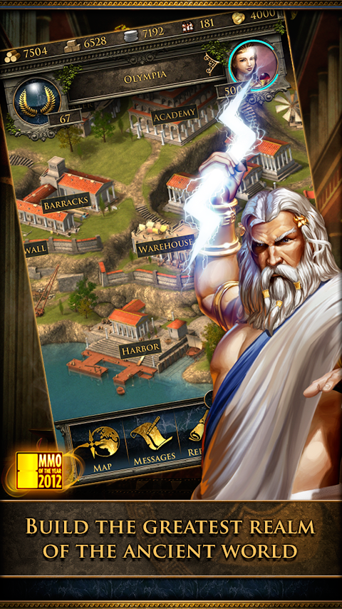Grepolis - screenshot