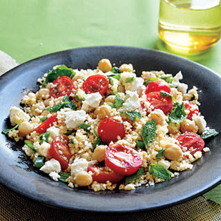 Couscous Salad with Chickpeas.