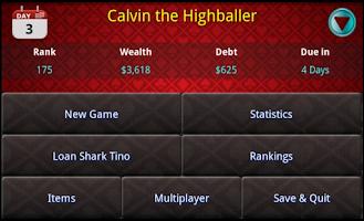 Screenshot of Super Five Card Pro