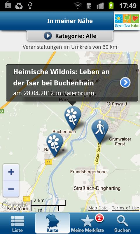 BayernTour Natur- screenshot