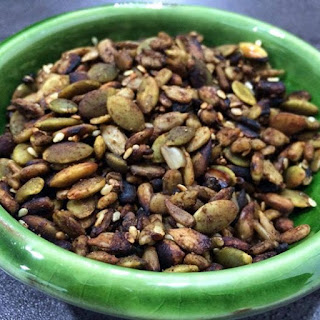 Spicy Toasted Seed mix.