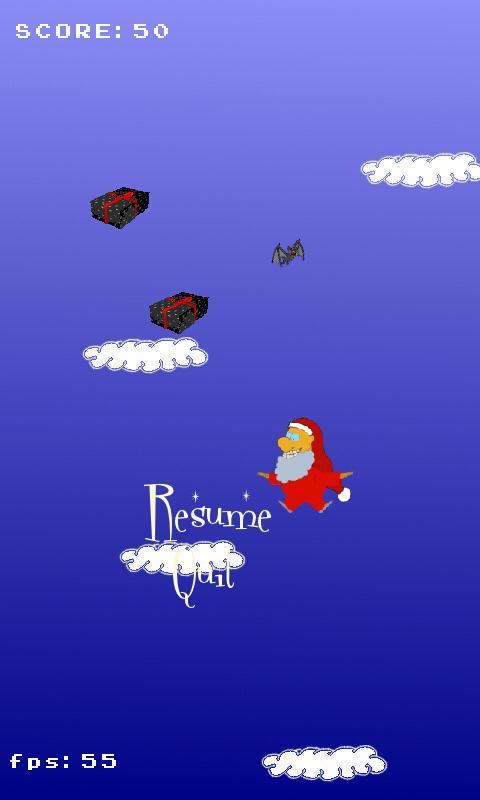 Santa Claus VS Baby Jesus- screenshot