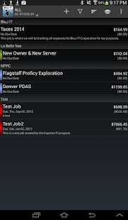 Expense Manager by BluJ IT - screenshot thumbnail