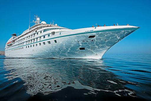 The graceful, suite-only Star Pride is one of Windstar's three new power yachts.
