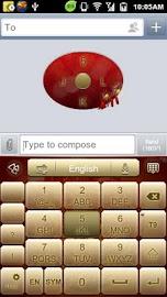GO Keyboard Fortune Dragon Screenshot 7