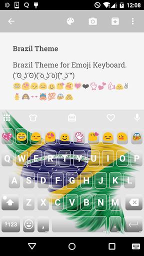 Brazil Skin Emoji Keyboard