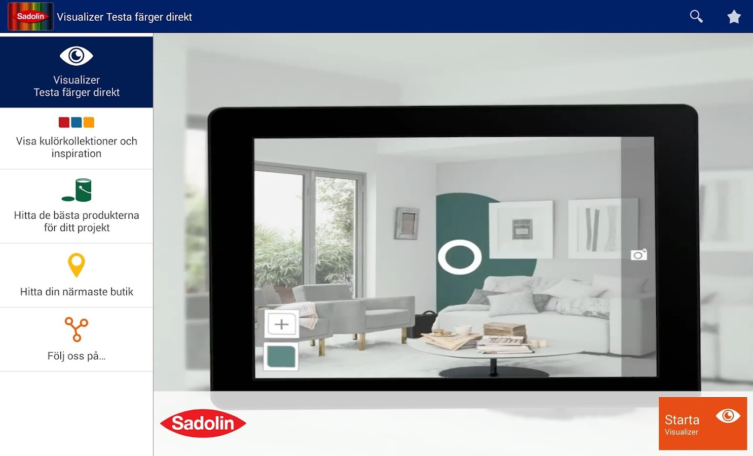 Sadolin Visualizer- screenshot