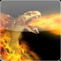 Burning Snake Live Wallpaper logo