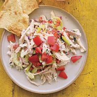 Chicken Salad with Yogurt-Ranch Dressing.