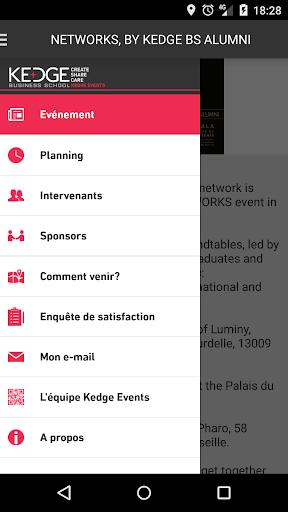 KEDGE EVENTS