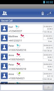 Hide Calls Automatically Screenshot