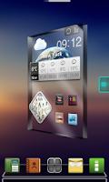 Screenshot of Drock Next Launcher 3D Theme