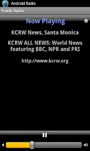 Public Radio - screenshot thumbnail