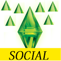 SIMS Social Cheats logo