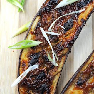 Miso Glazed Eggplant -Nasu Dengaku
