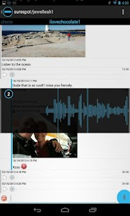 surespot encrypted messenger- screenshot thumbnail