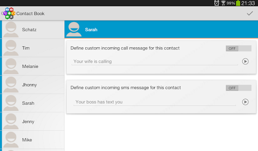 【免費通訊App】Say Caller Name +-APP點子