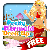 Pretty Mermaid Dress Up - Free