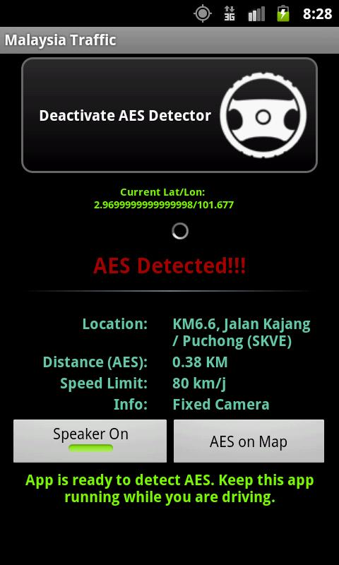 AES and Traffic CCTV - screenshot