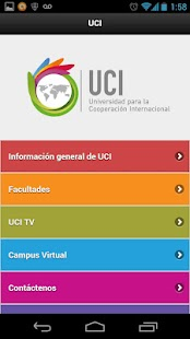 UCI - Universidad- screenshot thumbnail