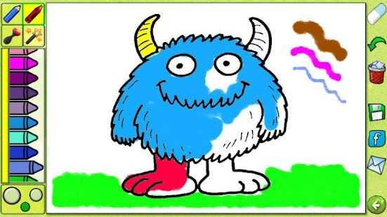 Coloring Book - Cartoons Free - screenshot thumbnail