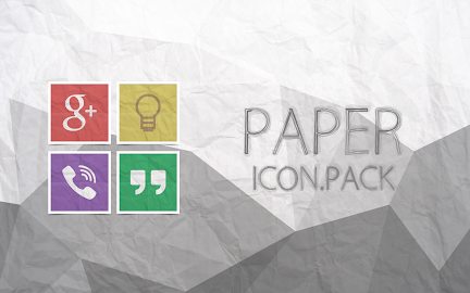 Paper - Icon Pack Screenshot 12
