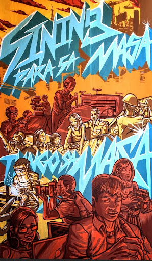 UP College of Fine Arts Mural 3