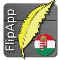 FlipApp FamousQuotes Hungarian icon