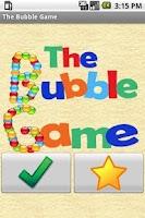 Screenshot of Le jeu Bubble