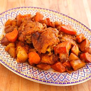 Israeli Chicken Sofrito.