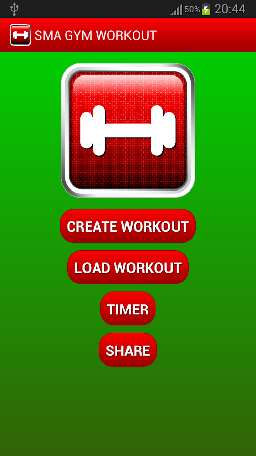 SMA Gym Workout - screenshot